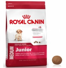 Royal Canin корм для собак Medium Junior 4кг