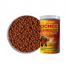 Тропикал Cichlid Carnivore Medium Pellet 1000ml/360g