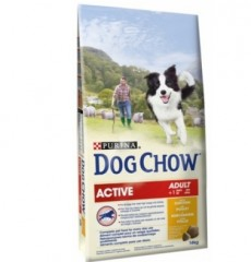 Dog Chow Complect актив (курица) 14кг
