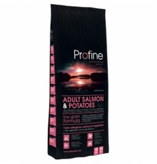 Profine Adult Salmon гипоаллергенный корм для взрослых собак. с лососем 15kg