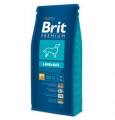 Brit Premium Dog Lamb&Rice 3кг