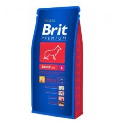 Brit Premium Dog Adult L (крупные породы 25-45 кг. от 3 до 7 лет) 8кг
