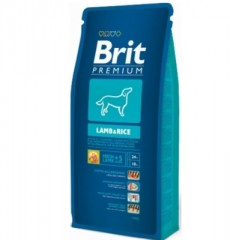 Brit Premium Dog Lamb&Rice 8кг
