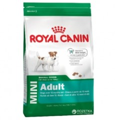Royal Canin корм для собак Mini Adult 27 4кг