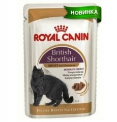 Royal Canin консервы для кошек British shorthair adult 85г