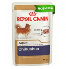 Royal Canin консерва для собак Chihuahua adult 85г